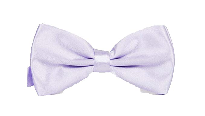 Classic New Lavender Lilac Men/'s Pre-tied Bowtie Bow tie wedding Party Prom
