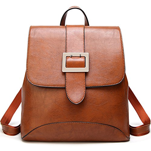 SiMYEER Women's Leather Backpack Purse Top Tote Bags Handbags Shoulder Bag School Casual Daypack for Girls by SiMYEER
