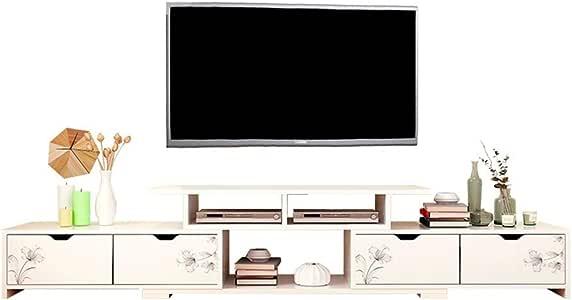 Unidad de gabinete de Soporte de TV Pantalla De La Consola De Televisión TV Medios De Comunicación De Almacenamiento De Almacén Bahía Caja De La Consola Mueble De Televisión De TV: Amazon.es: