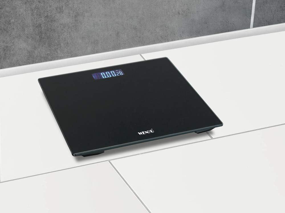 WENKO Personenwaage LCD Schwarz