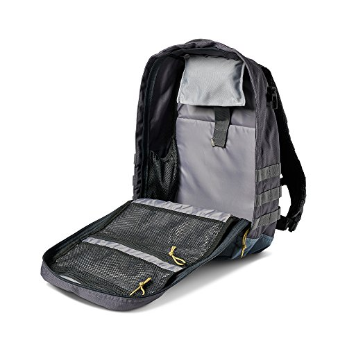 5.11 Rapid Origin Tactical Backpack with Laptop Sleeve, Hydration Pocket, MOLLE, Style 56355, Coal