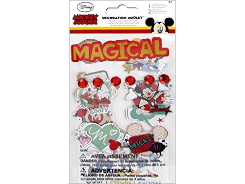 (Sandylion Disney Mickey Mouse Decoration Medley Stickers)