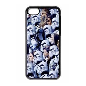 WJHSSB Print Star Wars Pattern PC Hard Case for iPhone 5C