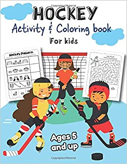 Hockey Coloring Books Hockey Sports Coloring Fun