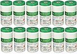 Saalfeld 30825 Hydrogen Peroxide Cleaner Disinfectant Wipes, Kills Norovirus CodJLF, HIV Rotavirus, 6.75'' x 5.75'', 12 Pack of 155 Wipes