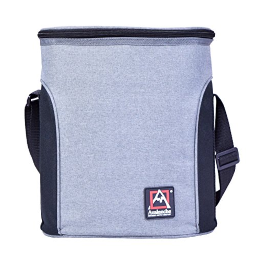 Avalanche Hazen on the Go Cooler Lunch Bag Tote Travel, Gray, One Size by Avalanche (Image #4)