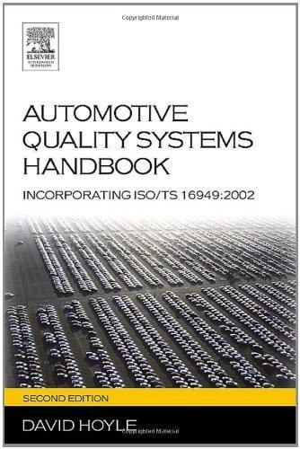 Automotive Quality Systems Handbook:2nd (Second) edition pdf