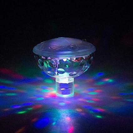 Amazon.com: Bath Toys Waterproof Colorful Bathroom LED Light Toys in ...