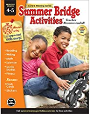 Summer Bridge Activities - Grades 4 - 5, Workbook for Summer Learning Loss, Math, Reading, Writing and More wi