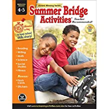 Summer Bridge Activities | Bridging Grades 4-5 | Summer Learning Workbook | 160pgs