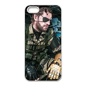 iPhone 5,5S Phone Case White Metal Gear Solid V The Phantom of Pain WE9TY639809