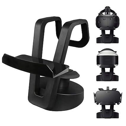 VR Display Station Soporte de almacenamiento con organizador ...