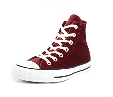 c1a8510ac2bc Converse Chuck Taylor All Star HI Top Women s Shoes Red Block White 557932f  (5.5