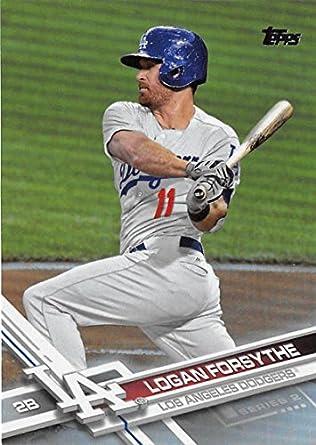 b62ac1ad Amazon.com: Baseball MLB 2017 Topps Rainbow Foil #402 Logan Forsythe ...