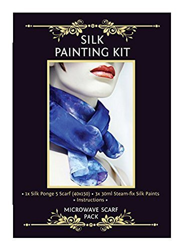 Silk Painting Microwave Scarf Kit by Silkcraft