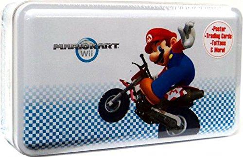 Super Mario Kart Wii Enterplay Trading Card Collectors Tin Mario Cover