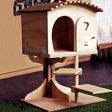 Blitzen Novedades, L Robinson, Fantástico Juego Caseta Para Perro Indoor Para Gatos, Cat Bed Cat House Scratcher, Made In Italy: 100%: Amazon.es: Jardín