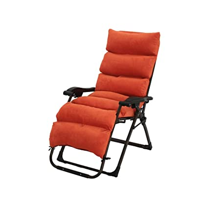 Amazon.com: Bseack Deck Chairs, Can Sit, Can Lie Down Semi ...