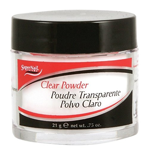 SUPERNAIL French Acrylic Clear Powder, 0.75 Ounce 51116