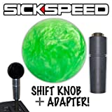 Green Pearl Shift Knob & Adapter For Auto/Automatic Gear Shifter Lever 2B for Volkswagen Beetle