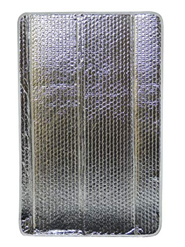 16 X 25 Door Window Cover Sun Shield Shade RV Colour: White/Reflective