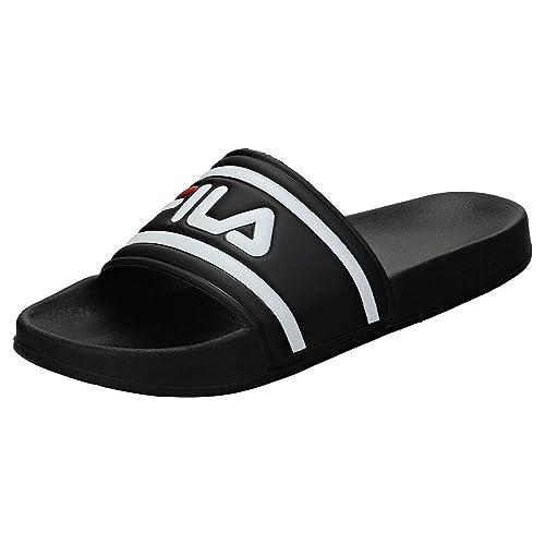 9e89c6ce0706 Fila Flip Flops – Morro Bay Slipper black white size  45  Amazon.com ...