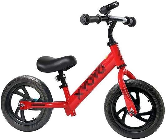 Bicicleta Sin Pedales Ultraligera Equilibrio para niños Bici para niños Regalo de cumpleaños para niños Bicicletas para niños Ligero Correr Andar en bicicleta para niños de 2-6 años Sin pedales Entren: Amazon.es: