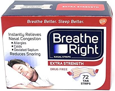 Breathe Right Snoring Free Congestion Relief 72 product image