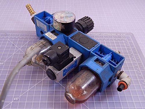 Festo HE-1/4-S-B, FRC-C-1/4-S-B-NPT Pneumatic Regulator Set Lock T98259