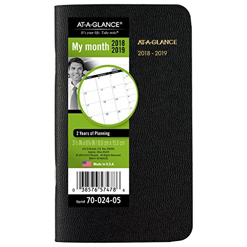 GLANCE Monthly Planner January 2018