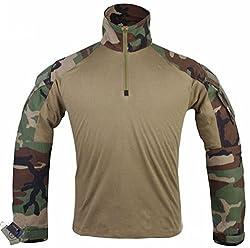 EMShe OSdream Men Military Paintball BDU Shirt Combat Gen3 Tactical Shirt