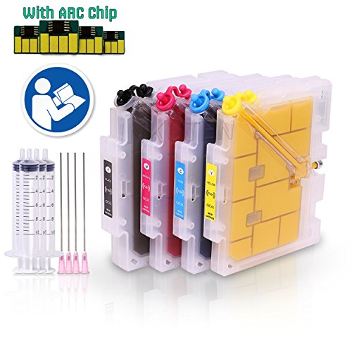 Refillable Non OEM Ricoh Sublimation Ink Cartridge and Sublimation Ink for Ricoh 3110DN 7110DN FREE USPS PRIORITY SHIPPING by Dope Designs