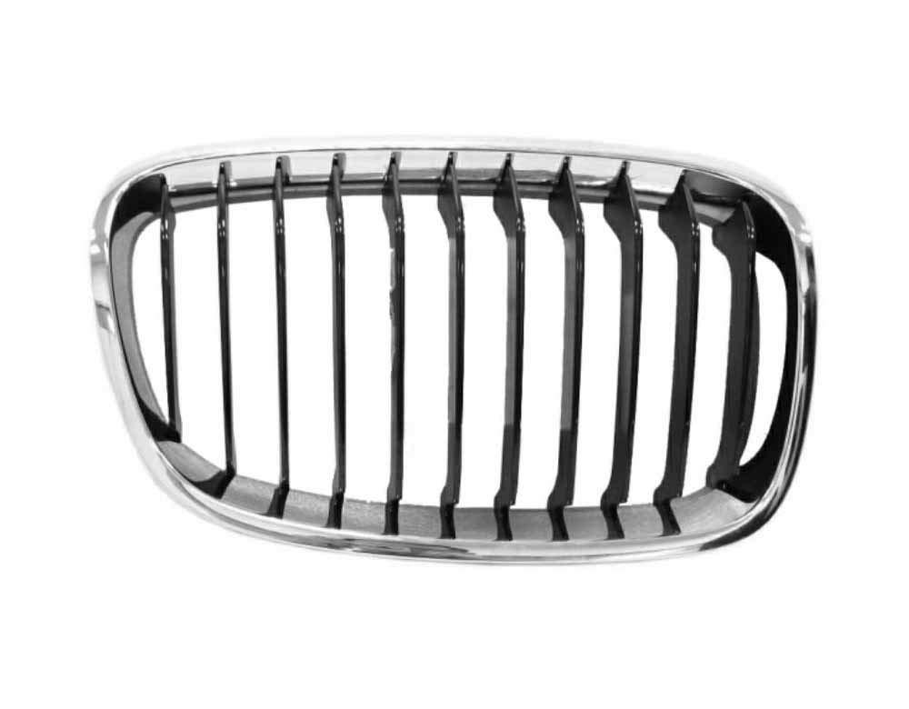 Spare Parts BM03234D r//h section front grille chrome-black