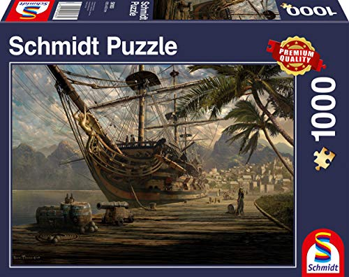 (SCHMIDT Ship at Anchor Puzzle (1000-Piece))