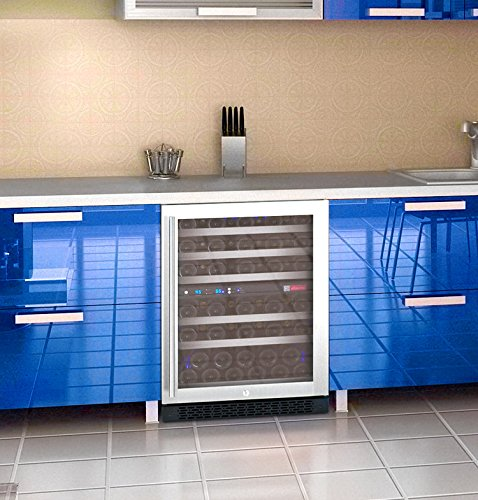 Allavino FlexCount VSWR56-2SSRN - 56 Bottle Dual Zone Wine Refrigerator with Right Hinge Built-In by Allavino (Image #9)