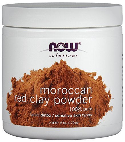 NOW Foods Red Clay Powder Moro…
