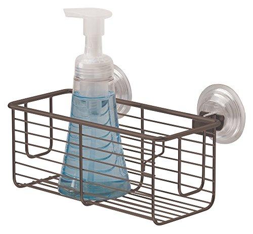 mDesign Bathroom Suction Shampoo Conditioner product image