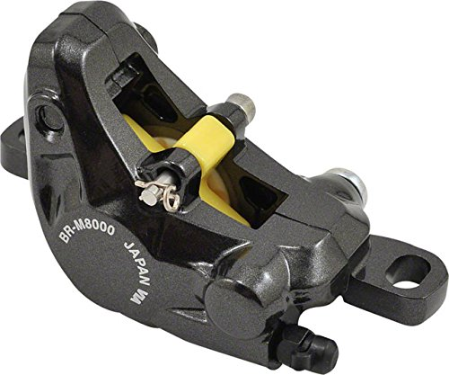 SHIMANO New XT M8000 Disc Brake Caliper Black with Resin Pads Front or Rear ()