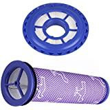 Aunifun Post Filter & Pre Filter for Dyson DC41 DC65 DC66 Animal, Compatible HEPA Post Filter & Pre Filter. Replaces Part # 920769-01 920640-01