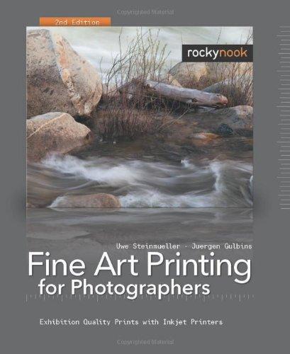 Fine Art Printing for Photographers: Exhibition Quality Prints with Inkjet Printers (Englisch) Taschenbuch – 1. Juni 2008 Uwe Steinmüller Jürgen Gulbins Rocky Nook 1933952318