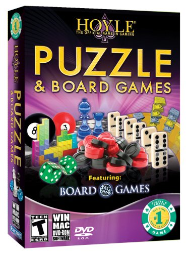 Hoyle Puzzle & Board Games 2009 [Old Version] (Puzzle Games For Computer)