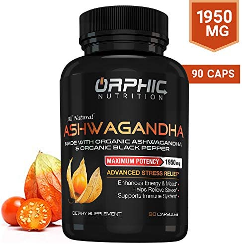 Ashwagandha Anti Anxiety Supplements Orphic Nutrition product image