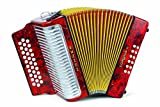 Hohner 3523FR 15.5-Inch 43-Key Accordion