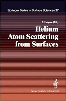 E. Hulpke - Helium Atom Scattering From Surfaces