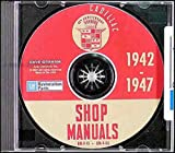 1942 1946 1947 CADILLAC & LaSALLE FACTORY REPAIR SHOP & SERVICE MANUALCD INCLUDES Fleetwood Series 42-60S & 42-75, Fisher Series 42-61, -62, -63, & -67 Cadillac Series 61, Series 62, Series 60 Special Fleetwood, Series 75 Fleetwood