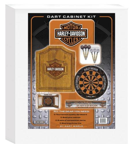 Perfect Amazon.com : Harley Davidson 61995 Bar And Shield Dartboard Cabinet Kit :  Harley Davidson Dart Boards : Sports U0026 Outdoors