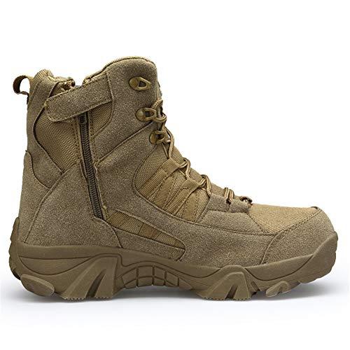 ailishabroy armée mâle Commando Combat désert en Hiver Bottes de randonnée en Plein air d'atterrissage Chaussures… 5