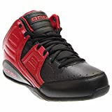 AND1 Men's Rocket 4.0 Mid Sneaker,F1 Red/Black/Silver,US 10 M