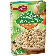 Betty Crocker Suddenly Pasta Salad, Creamy Macaroni (Pack of 4)