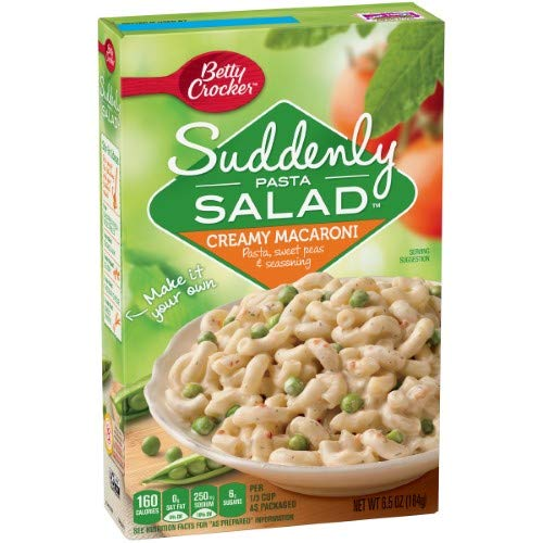 Betty Crocker Suddenly Pasta Salad, Creamy Macaroni (Pack of 20) by Generic (Image #1)